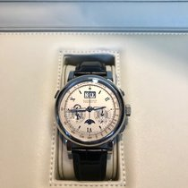 A. Lange & Söhne Chronograph 41mm Handaufzug 2007 gebraucht Datograph Silber
