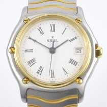 Ebel pre-owned Quartz 27mm Grey Sapphire Glass