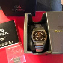 Breil pre-owned Quartz 40mm Black Mineral Glass 5 ATM