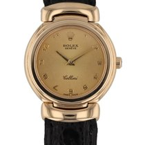Rolex Cellini (Submodel) pre-owned 26mm Yellow gold