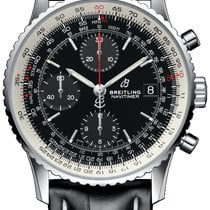 Breitling Navitimer Heritage Steel 41mm Black United States of America, Iowa, Des Moines