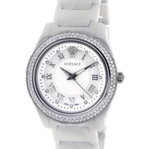 Versace Damenuhr 35mm Quarz gebraucht Uhr mit Original-Box und Original-Papieren 2009
