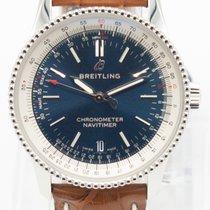 Breitling Navitimer Steel 38mm Blue