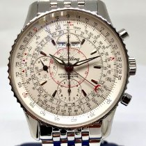 Breitling Montbrillant Datora Steel 43mm No numerals United States of America, New York, New York