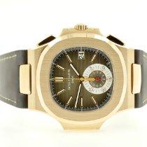Patek Philippe 5980R-001 Ροζέ χρυσό 2014 Nautilus 40.5mm μεταχειρισμένο