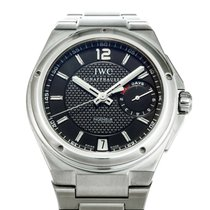 IWC Big Ingenieur pre-owned 45.5mm Black Steel