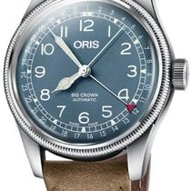 Oris 01 754 7741 4065-07 5 20 63 Steel Big Crown Pointer Date new United States of America, New York, Brooklyn