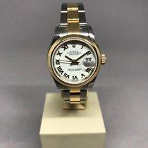 Rolex Lady-Datejust Gold/Steel 26mm Champagne Roman numerals