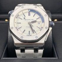 Audemars Piguet Royal Oak Offshore Diver Steel 42mm White No numerals UAE, dubai
