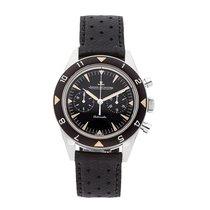 Jaeger-LeCoultre Deep Sea Chronograph Acier 40mm Noir Sans chiffres