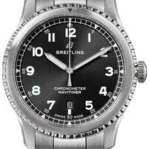 Breitling Navitimer 8 nuevo 2019 Automático Reloj con estuche y documentos originales A17314101B1A1