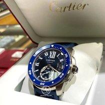 Cartier Calibre de Cartier Diver Steel 42mm Blue Roman numerals United States of America, Florida, Boca Raton