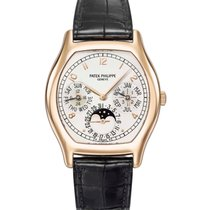Patek Philippe Perpetual Calendar Rose gold 35.6mm White United States of America, New York, New York