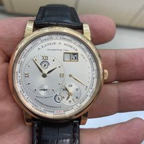 A. Lange & Söhne Lange 1 Rose gold 41.9mm Silver Roman numerals United States of America, New York, Great Neck
