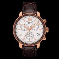 Tissot Quickster nuevo 2020 Cuarzo Cronógrafo Reloj con estuche y documentos originales T095.417.36.037.00