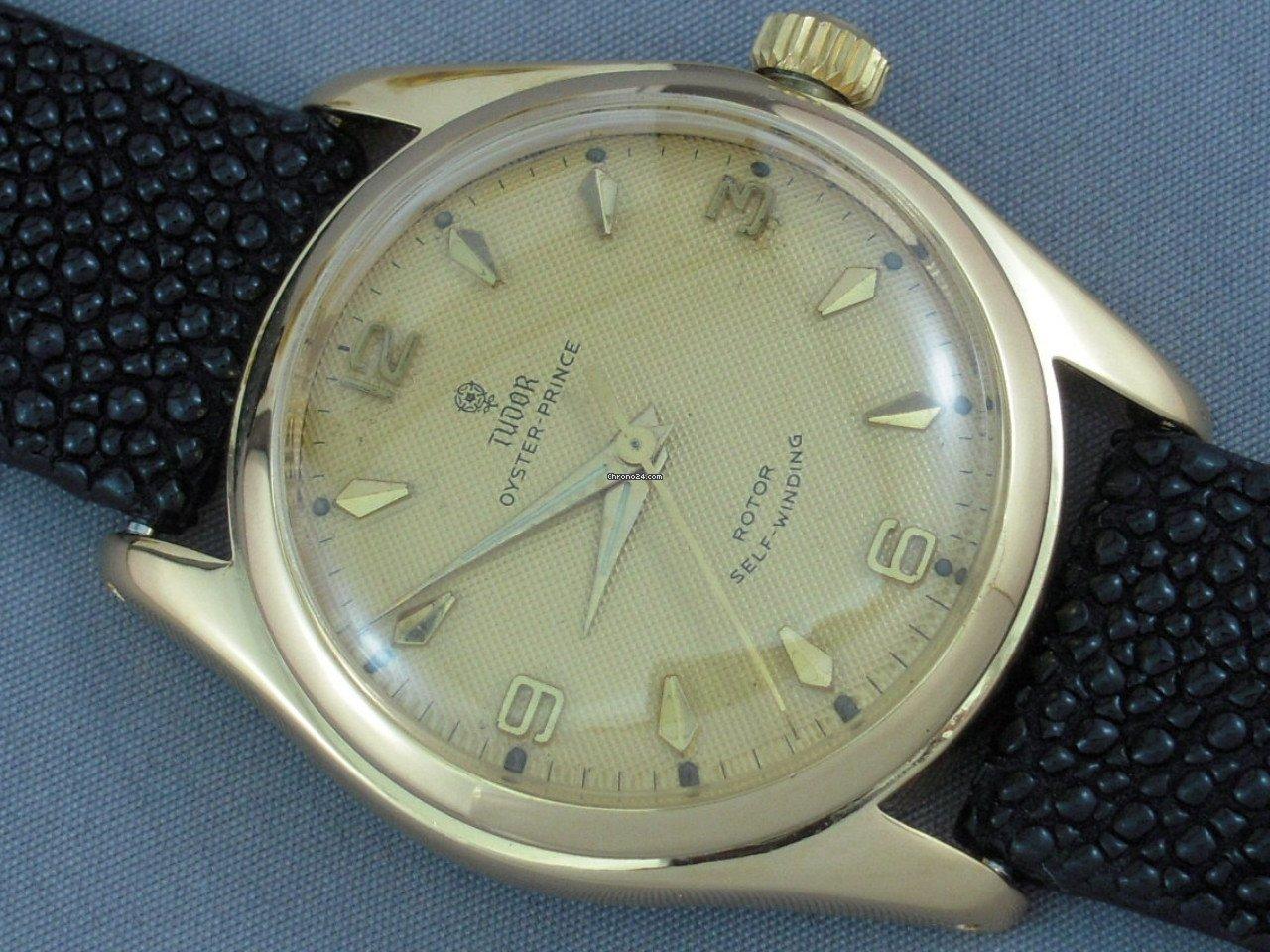 Vintage Tudor Watches >> Tudor Oyster Prince 34
