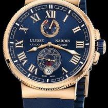 Ulysse Nardin Marine Chronometer Manufacture 1186-126-3/43 new