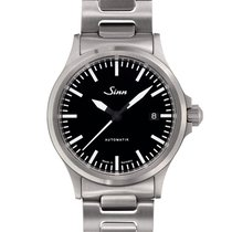 Sinn 556 Steel 38,5mm Black No numerals