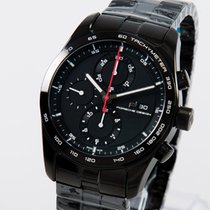 Porsche Design Chronotimer Series 1 Polished Black unworn box...