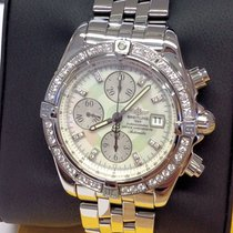 Breitling Chronomat Evolution A13356 - Diamond Set - Box &...