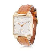Wittnauer Vintage Unisex Watch in 14K Yellow Gold