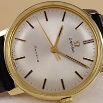 Omega Geneve Gold Watch 14K 1969 Perfect Condition