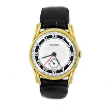 Ulysse Nardin pre-owned Automatic 33mm Champagne Sapphire Glass Not water resistant