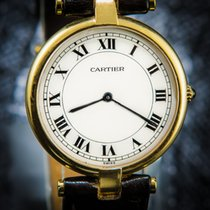 Cartier Vendome Ronde 18K Yellow Gold - Box & inhouse certificate