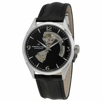Hamilton Jazzmaster Open Heart Steel 42mm Black United States of America, New Jersey, Cherry Hill