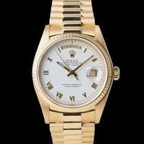 Rolex Day-Date 36 rabljen 36mm Zuto zlato