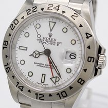 Rolex Explorer II Steel 40mm White