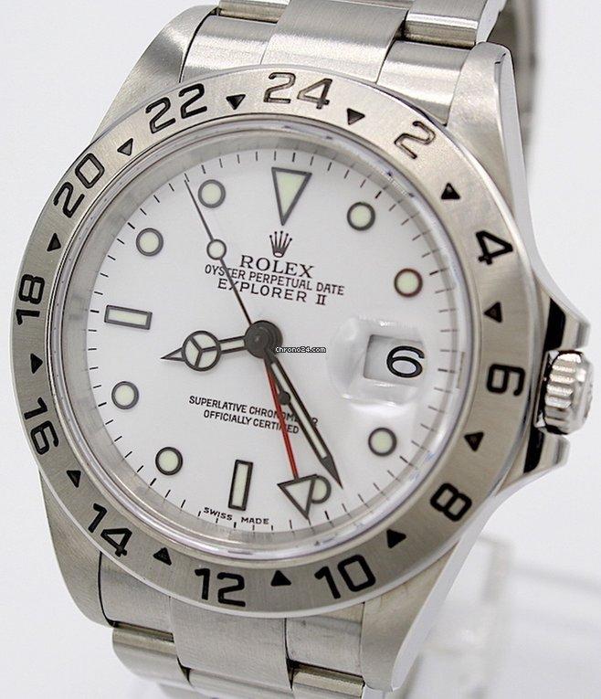 b685f7d27df Rolex Explorer II - Todos os preços de relógios Rolex Explorer II na  Chrono24
