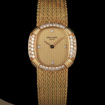 Patek Philippe 23mm Manual winding pre-owned Golden Ellipse Gold