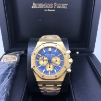 Audemars Piguet new Automatic 41mm Yellow gold Sapphire Glass