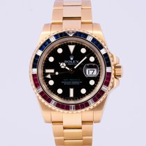 Rolex 116748SARU Yellow gold 2007 GMT-Master II pre-owned
