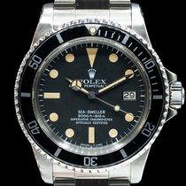 Rolex Sea-Dweller Steel 40mm Black Arabic numerals United States of America, Massachusetts, Boston