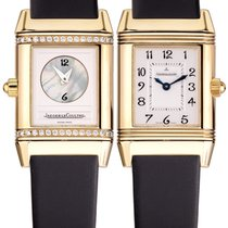 Jaeger-LeCoultre Reverso Duetto Rose gold 21mm Arabic numerals
