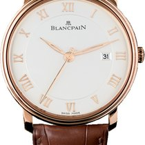 Blancpain Villeret Ultra-Slim Rose gold 40mm White Roman numerals United States of America, Florida, Miami