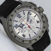 JeanRichard Aeroscope Titanium 46mm Silver Arabic numerals