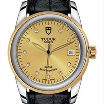 Tudor Glamour Date 55003-0051 New Steel 36mm Automatic