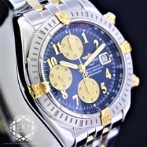 Breitling Chronomat Evolution Gold/Stahl 44mm Blau