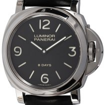Panerai Luminor Base 8 Days Acier Noir