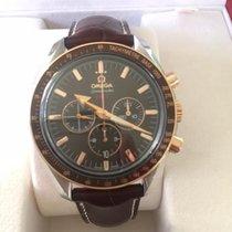 Omega Speedmaster Broad Arrow Gold/Steel 42mm Brown No numerals United Kingdom, Radlett