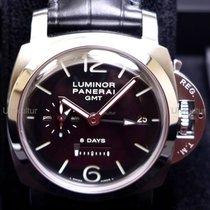 Panerai Luminor 1950 8 Days GMT Stal 44mm