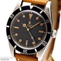 Rolex Vintage Submariner James Bond Ref-6536/1 Stainless Steel...