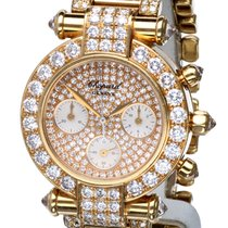 Σοπάρ (Chopard) Imperiale Chronograph Yellow Gold Diamonds 32 mm