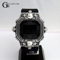 Casio Gümüş 47mm Quartz G-SHOCK DW5600 yeni