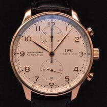 IWC Portuguese Chronograph Rose Gold 2017