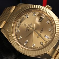 Rolex 218238 Yellow gold Day-Date II 41mm pre-owned United States of America, New York, New York