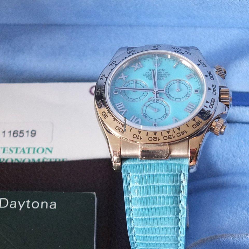 Hodinky Rolex Daytona Bílé zlato  bf2aacaa7e